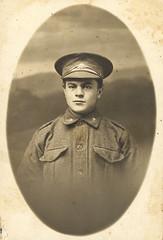 Malcolm R Graham, abt 1916 AIF Portrait