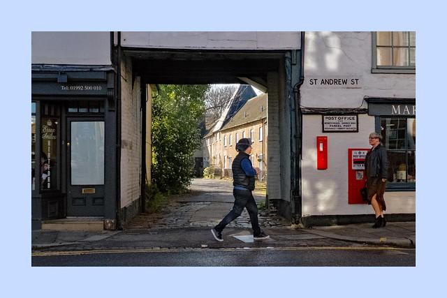 St Andrew Street Walk: Hertford