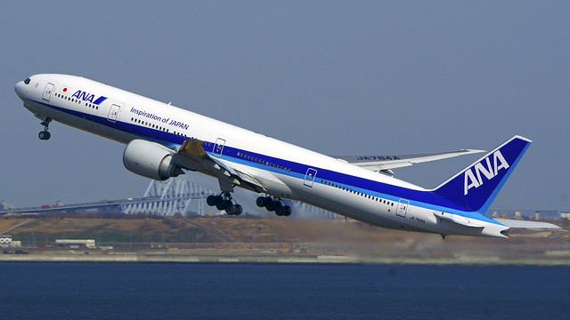 Boeing 777-381/ER, JA784A, All Nippon Airways