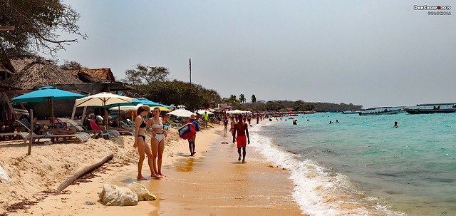Playa Blanca Beach, Cartagena, Colombia