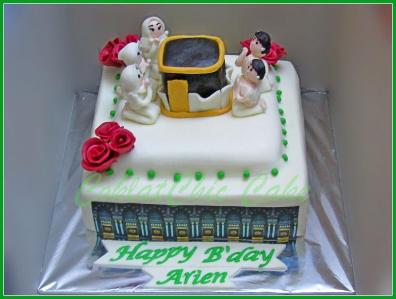 Cake umrah ARIEN 18 cm