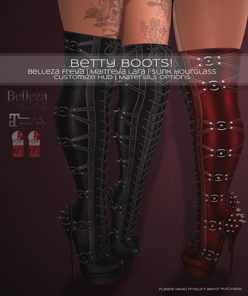 🎀 Betty Boots! 🎀 - TeleportHub.com Live!