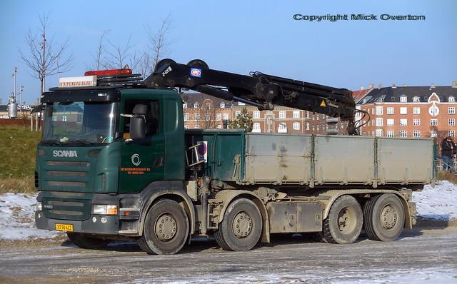 Scania R420 XT90412 tipper