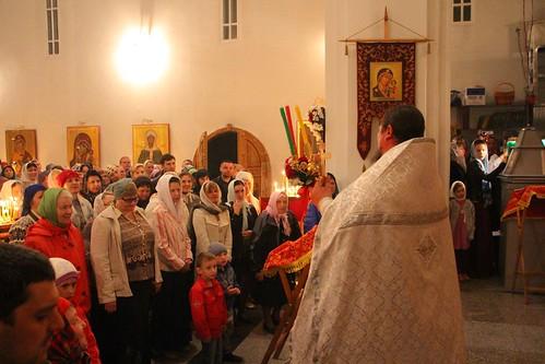 Пасхальное Богослужение в Свято-Никольском храме станицы Кавказской IMG_1271