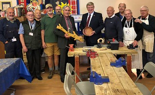 Visiting Macmerry men's shed | by Iain Gray MSP