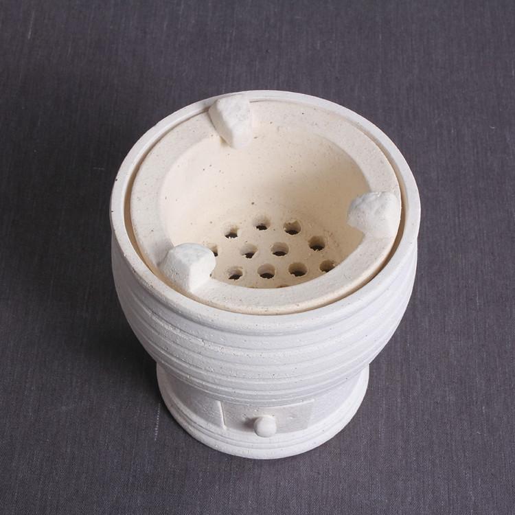 """Chaozhou White Mud """"Yu Shu Wei"""" Charcoal / Alcohol Lamp Stove"""