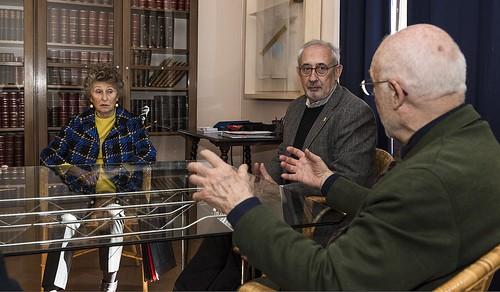 D'esquerra a dreta: la Sra. Mariona Carulla, el Sr. Jordi Casassas i el Sr. Joan Artur Roura.   by Ateneu Barcelonès