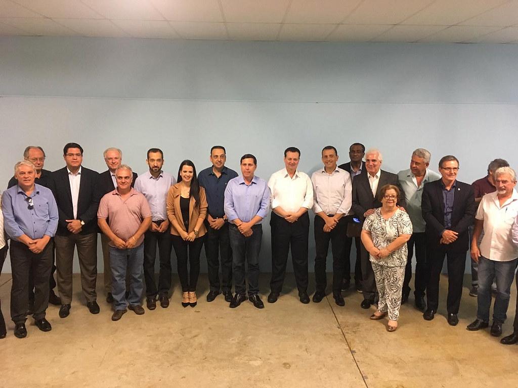 13/12/2018. Ministro Gilberto Kassab participa da 22ª Reunião do Conselho de Desenvolvimento da Região Metropolitana do Vale do Paraíba e Litoral Norte (RMVALE-LN). Foto: Thiago Nascimento/MCTIC.