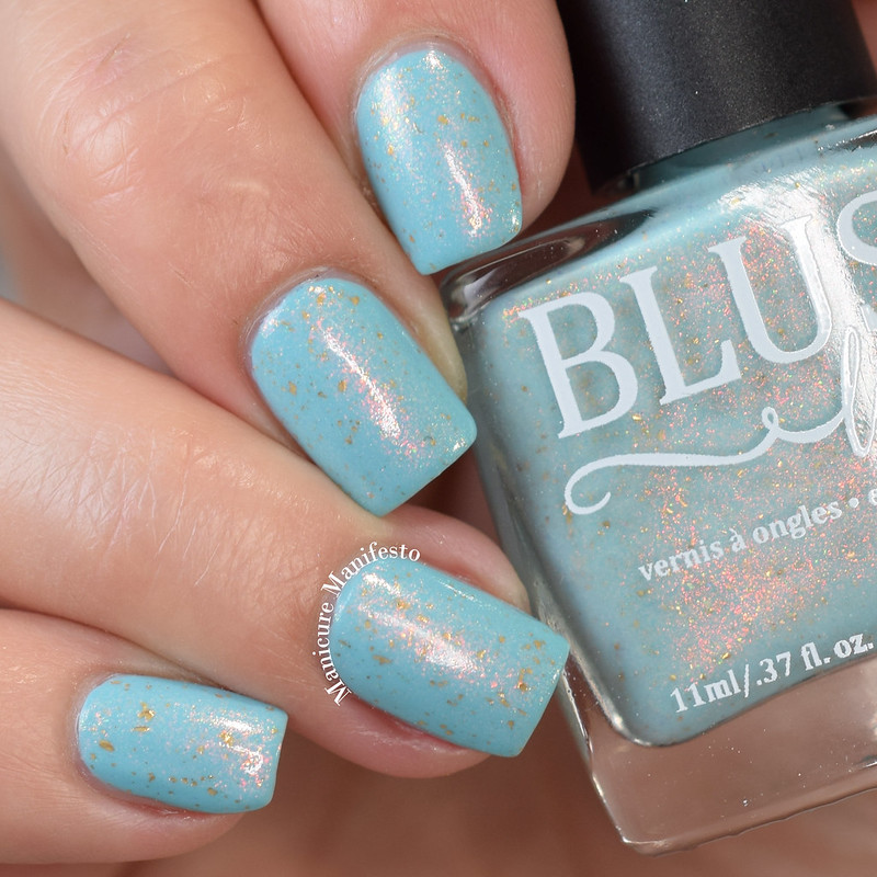 Blush Lacquer Tidal Reflections