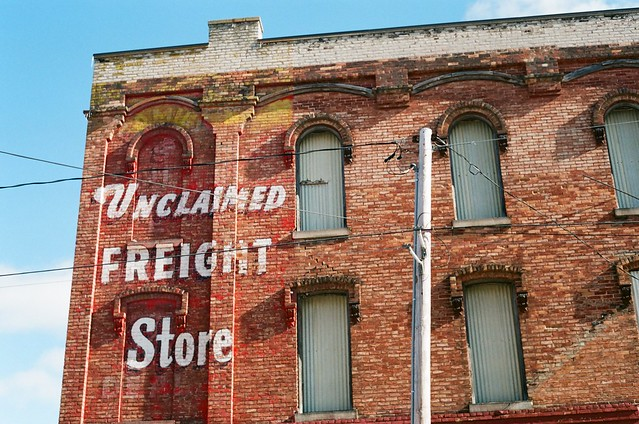 Unclaimed Freight - Bay City, MI [FILM]