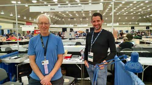 Tom Caldwell Chris Clements Northeast Numismatics 2019-03 Whitman Coin Expo | by Numismatic Bibliomania Society