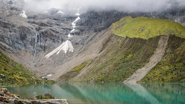 Peace at Humantay lake