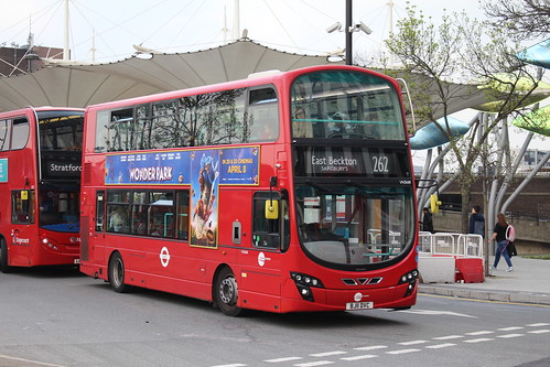 Tower Transit VN36118 on Route 262, Stratford