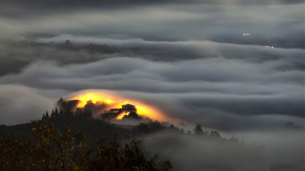 una luce nella nebbia