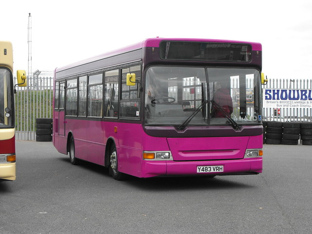 483, Y483 VRH, Dennis Dart, Plaxton Pointer Body, 2001 (t.2018)