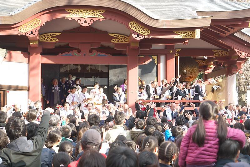 素盞雄神社の節分祭