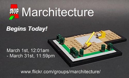 Marchitecture begins!
