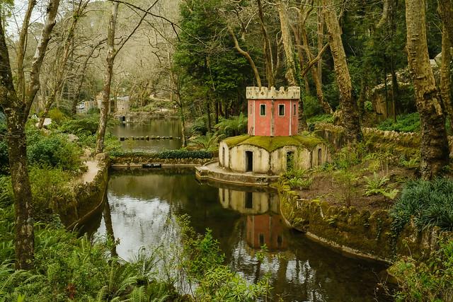 Jardines de Quinta da Pena Portugal