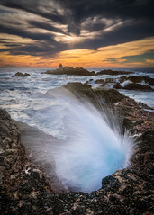 Garrapata Blow Hole - Big Sur, CA