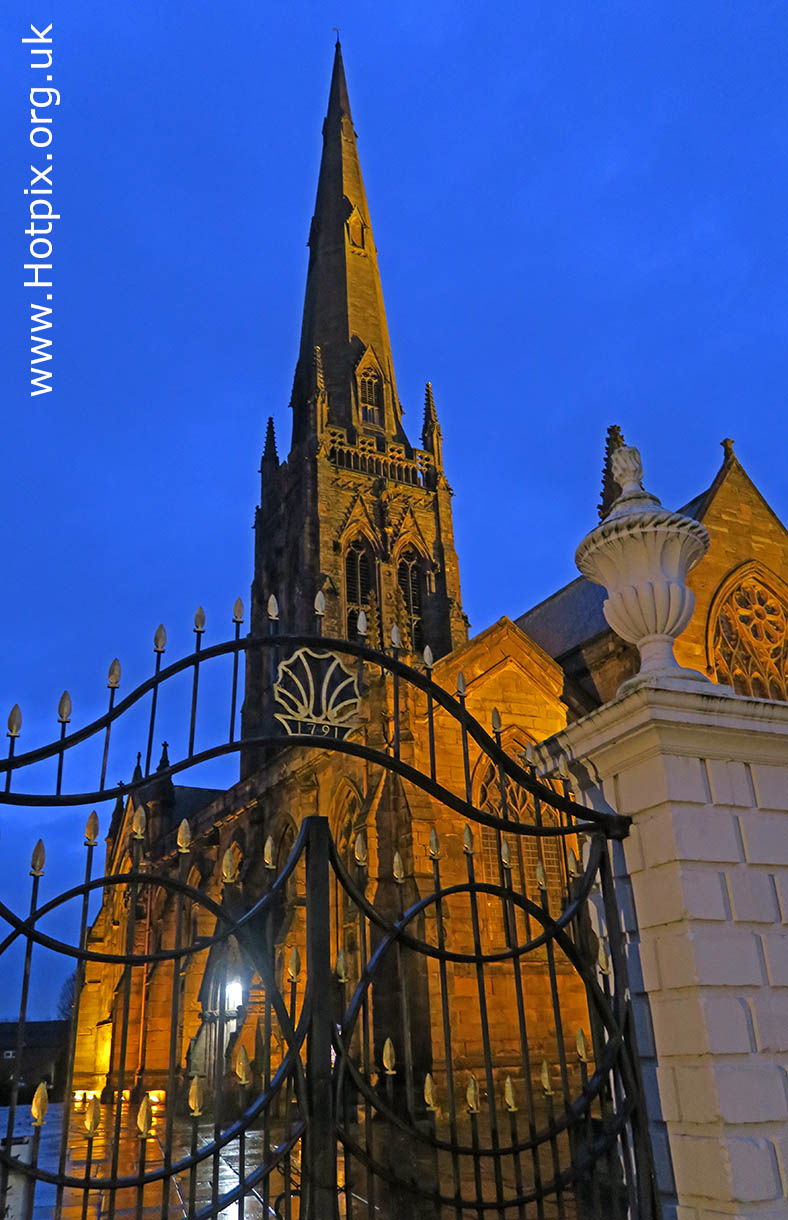 Warrington,church,Church of England,Tower,Cheshire,England,UK,dusk,night,at night,town centre,HousingITguy,Project365,2nd 365,HotpixUK365,Tone Smith,GoTonySmith,365,2365 one a day,Tony Smith,Hotpix