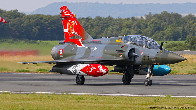 French Air Force Dassault Mirage 2000 D - 624/133-IT - France/EC 2/3 Champagne