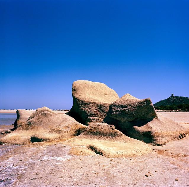 Sardinia - Porto Giunco Rocks (Kodak Ektar 100 6x6)