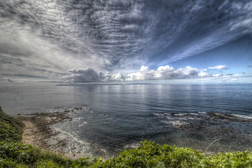 whitepointbeach sanpedro southerncalifornia california pacificocean ocean clouds cloudscapes sky