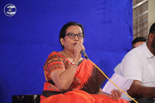 Devotional song by Jaishree Kiriti, Counsular Muncipal Council