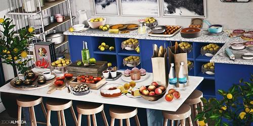 La fiesta del limón en la casa azul   by IgorAlmeida BlackBart