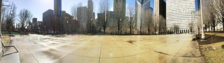 Feels like there should be a second Chicago Bean on this empty plaza. | by spudart