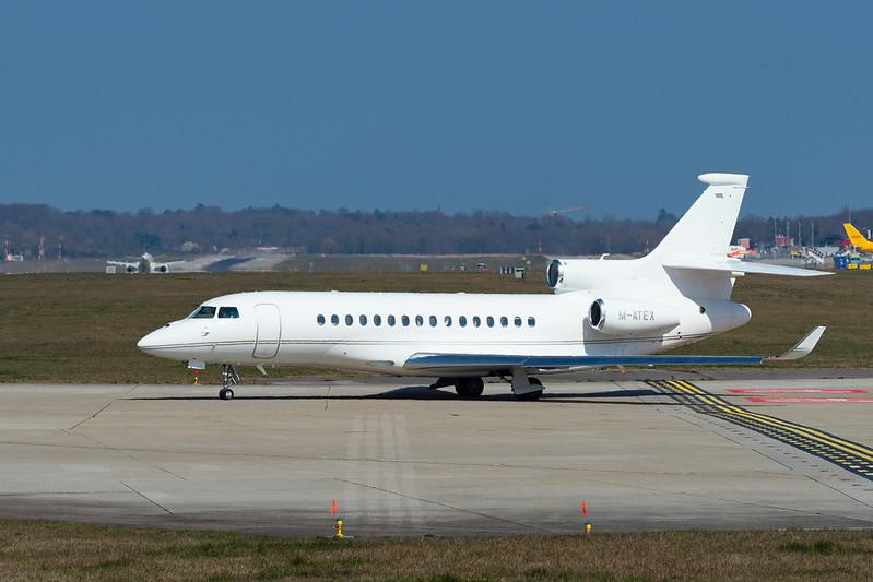 M-ATEX Dassault Falcon 8X FA8X c/n 421