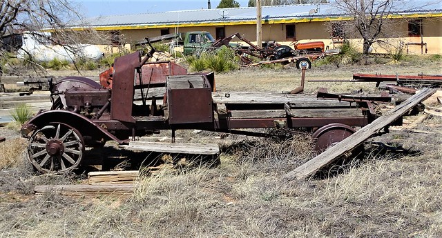 32519-23, Abandoned Truck At Vaughn, New Mexico