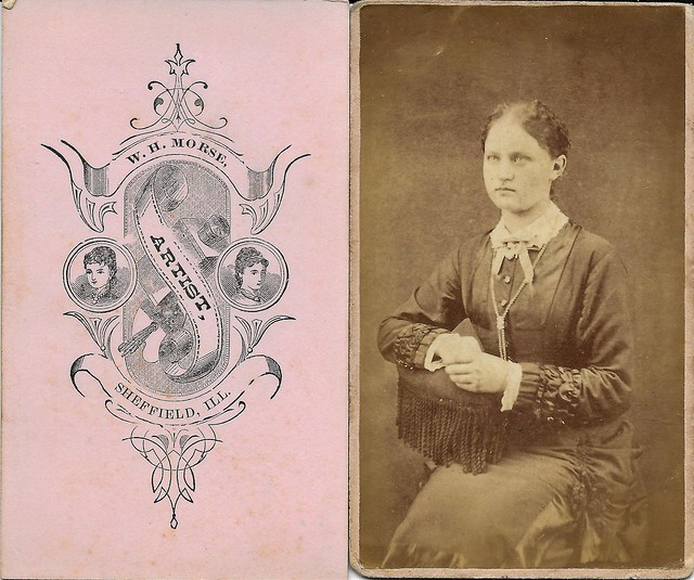 CDV's by W. H. Morse, Sheffield, Illinois (Explored)