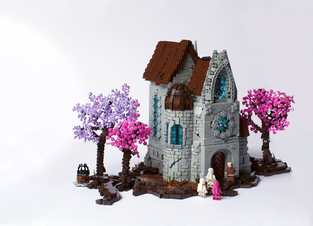 The BUSH Part Misuage – Daylight at the chapel (custom built Lego model)