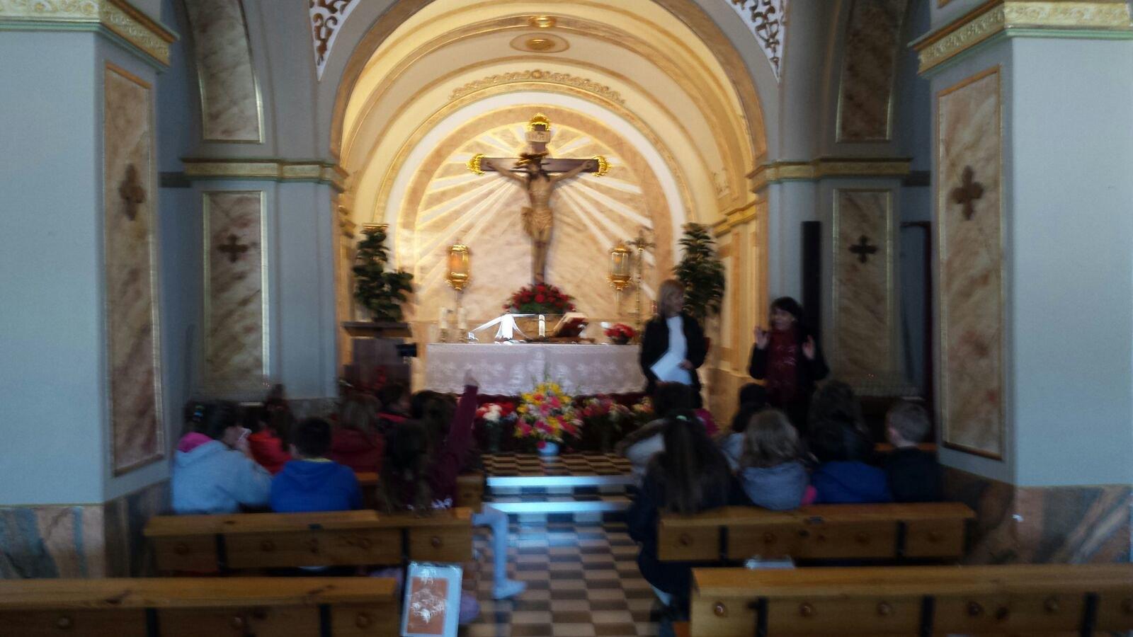 (2018-03-22) - Visita ermita alumnos Laura,3ºC, profesora religión Reina Sofia - Marzo -  María Isabel Berenguer Brotons (13)