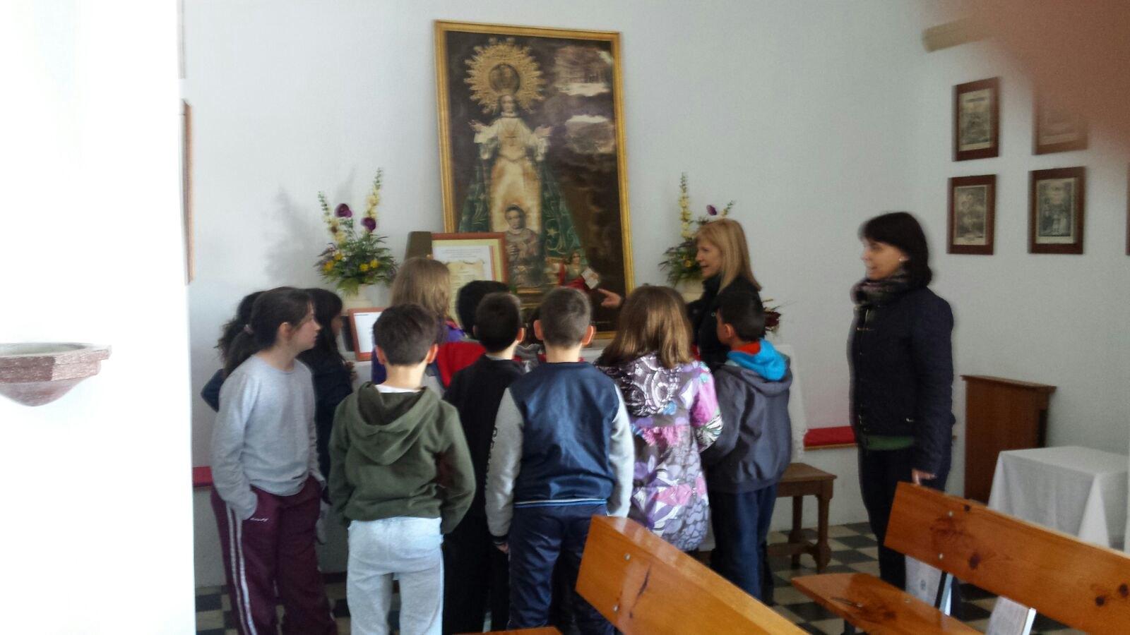 (2018-03-16) - Visita ermita alumnos Laura,3ºB, profesora religión Reina Sofia - Marzo -  María Isabel Berenguer Brotons (11)