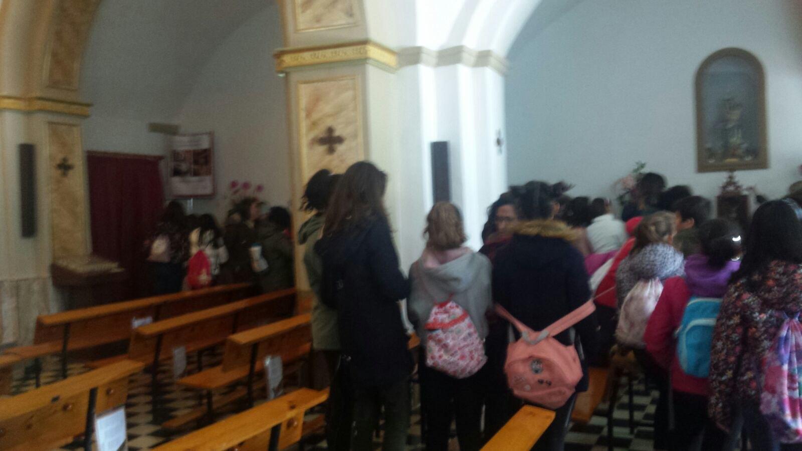 (2018-03-19) - Visita ermita alumnos Yolada-Pilar,6º, Virrey Poveda-9 de Octubre - Maria Isabel Berenquer Brotons - (11)