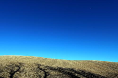 happyvalley ontario canada moon sky landscape march 2018