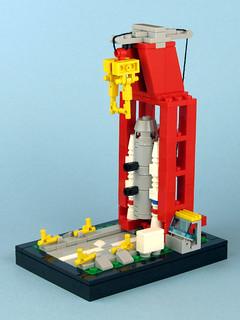 Mini 6339 Shuttle Launch Pad   by tybort