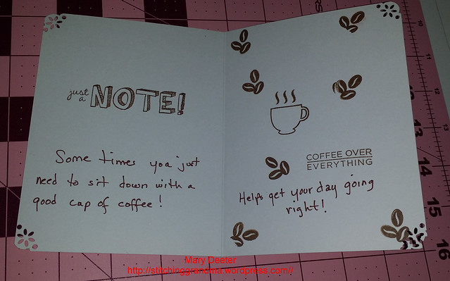 Coffee card sentiment