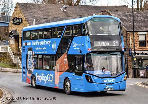 Go North East 6332, a 2017 Wright StreetDeck reg no NK67GOA, | by Neil Harrison Transport Photographs