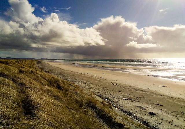 West Gerinish beach