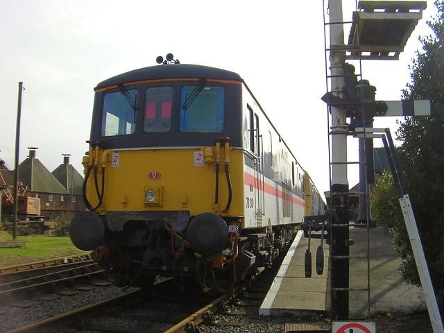 Loco 'Selhurst' 73210 at Dereham, Multiple Matters Weekend Mid Norfolk Railway 02 10 2012
