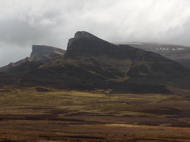 Quirang, Trotternish ridge on Skye, Scotland