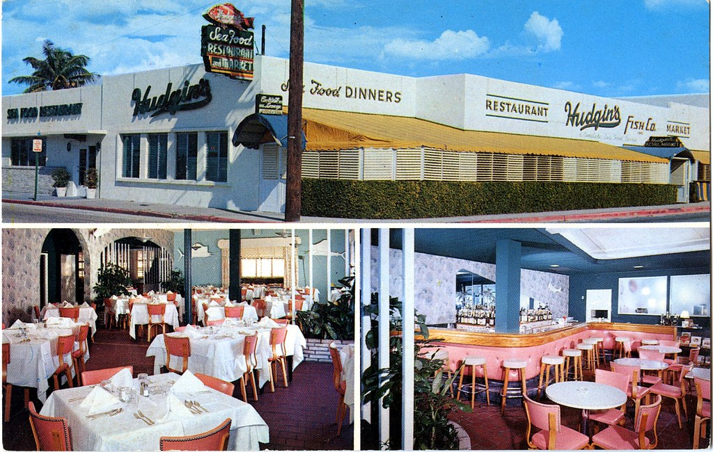 Hudgins Sea Food Restaurant West Palm Beach Florida Flickr