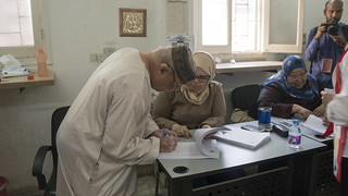 Searching for his name in the Poll station's registry in Egypt's Presidential elections 2018 | by Kodak Agfa