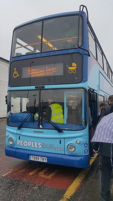 Peoplesbus T999TNY Sandhills Lane