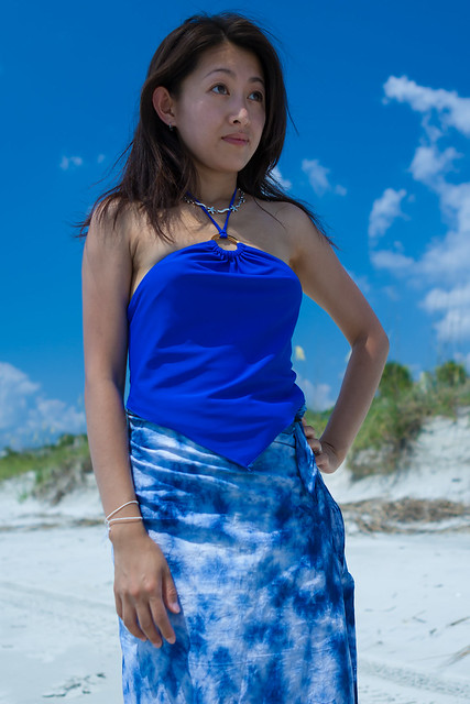 Blue Tankini