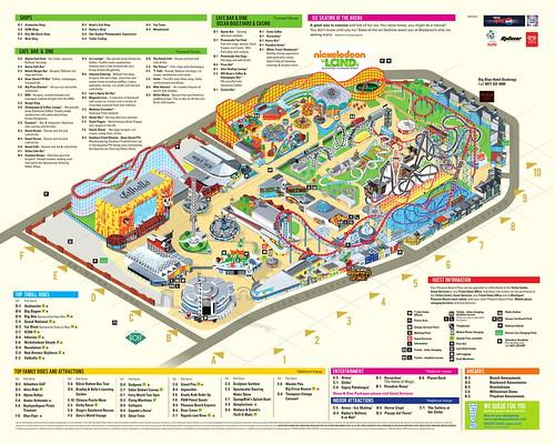 Blackpool Pleasure Beach 2018 Park Map | by ThemeParkMedia