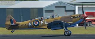 Stylish chase plane - Spitfire MH367 | by errolgc